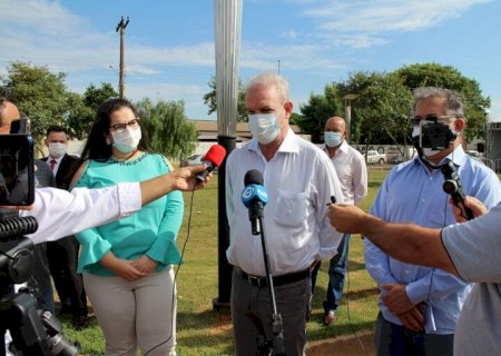 Governo do Estado e Prefeitura de Naviraí ativam ambulatório de campanha da Covid