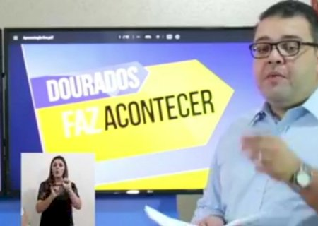 100 dias: Em live de uma hora, Alan Guedes destaca vacinação, limpeza e avanços na educação em Dourados