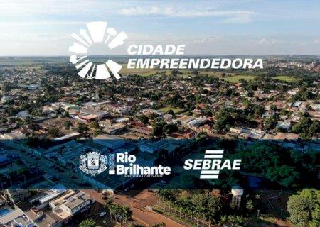 Para impulsionar o desenvolvimento de Rio Brilhante, Governo Municipal adere ao Cidade Empreendedora