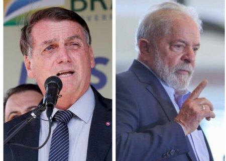 Lula e Bolsonaro estão tecnicamente empatados para 2022, aponta pesquisa