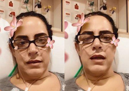 Covid: \'Cheguei implorando por ar\', diz filha de Silvio Santos ao ser internada