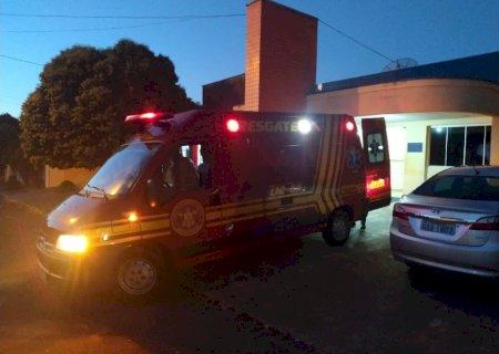 Pedestre morre após acidente com motociclista em Vicentina