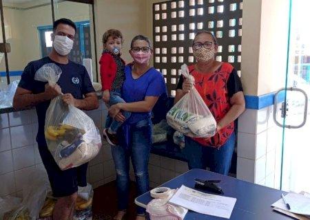 Prefeitura realiza a entrega de kit merenda aos alunos da rede municipal de Vicentina