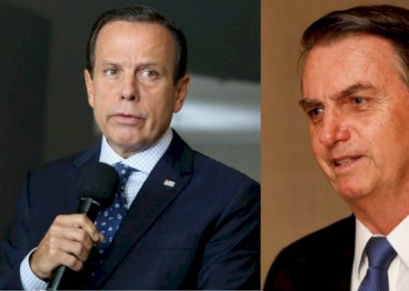 Após ser chamado de \'patife\' por Bolsonaro, Doria pede \'calma\' ao presidente