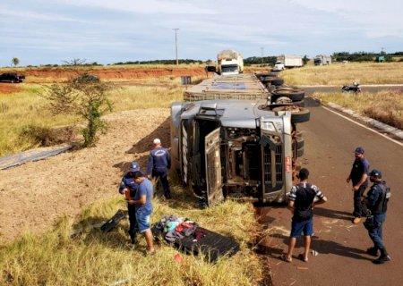 Morador em Rio Brilhante morre em acidente na MS-145 em Deodápolis