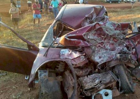 Homem morre após colisão com carreta em rodovia de MS