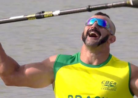 Atleta de MS garante segundo ouro na Copa do Mundo de Paracanoagem