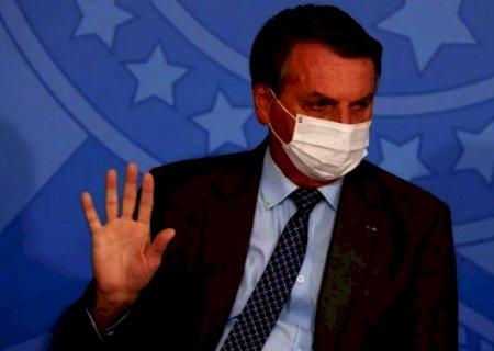 Bolsonaro anuncia parecer que desobriga uso de máscaras em vacinados e curados