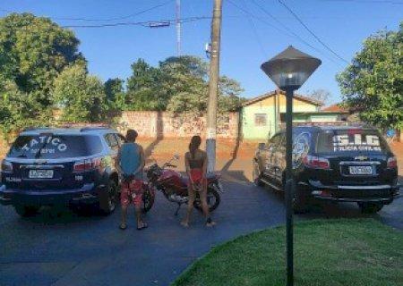 Moto roubada em Dourados é recuperada em Fátima do Sul