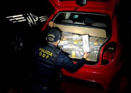 Homem é preso com quase 400 kg de droga na região de Jateí