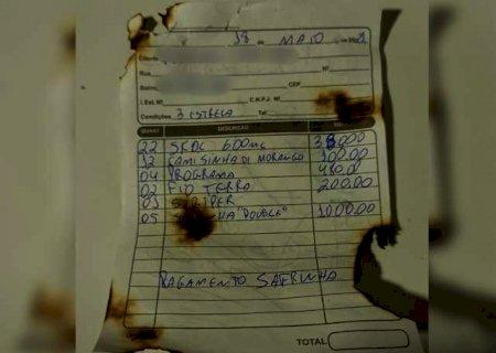Marido põe fogo em zona e sobra para cliente que assinou promissória
