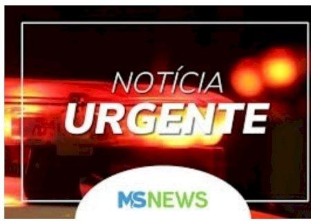AGORA: Moradora em Vicentina se envolve em acidente entre moto e bicicleta em Fátima do Sul