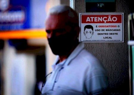 Com casos de variante delta em análise, dispensar uso de máscaras ainda é incerto em MS