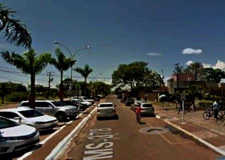Em Caarapó, condutor perde controle de moto e carona morre ao bater cabeça em palmeira