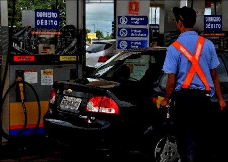 Gasolina comum passa dos R$ 6 nos postos de combustíveis de Campo Grande