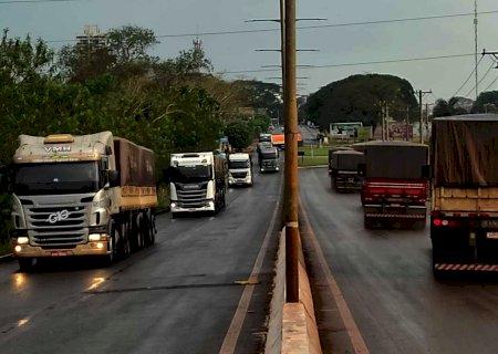Indígenas liberam trechos de rodovias interditadas em MS