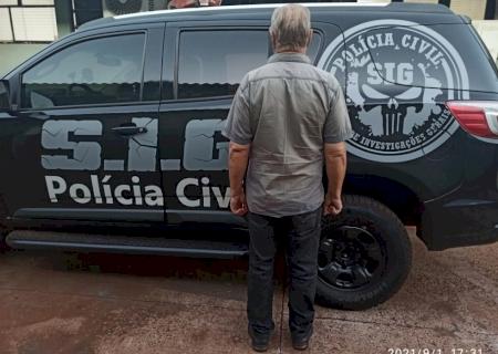 SIG de Fátima do Sul prende acusado de estupro de vulnerável em Minas Gerais