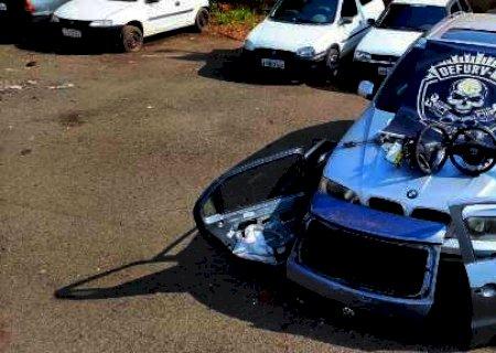 Preso homem que revendia peças até de BMW roubada