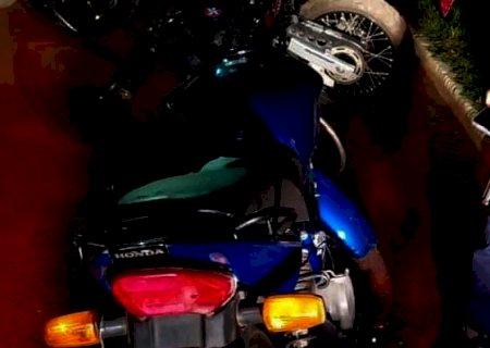 Moto com R$ 107 mil em muitas é apreendida durante blitz em Campo Grande
